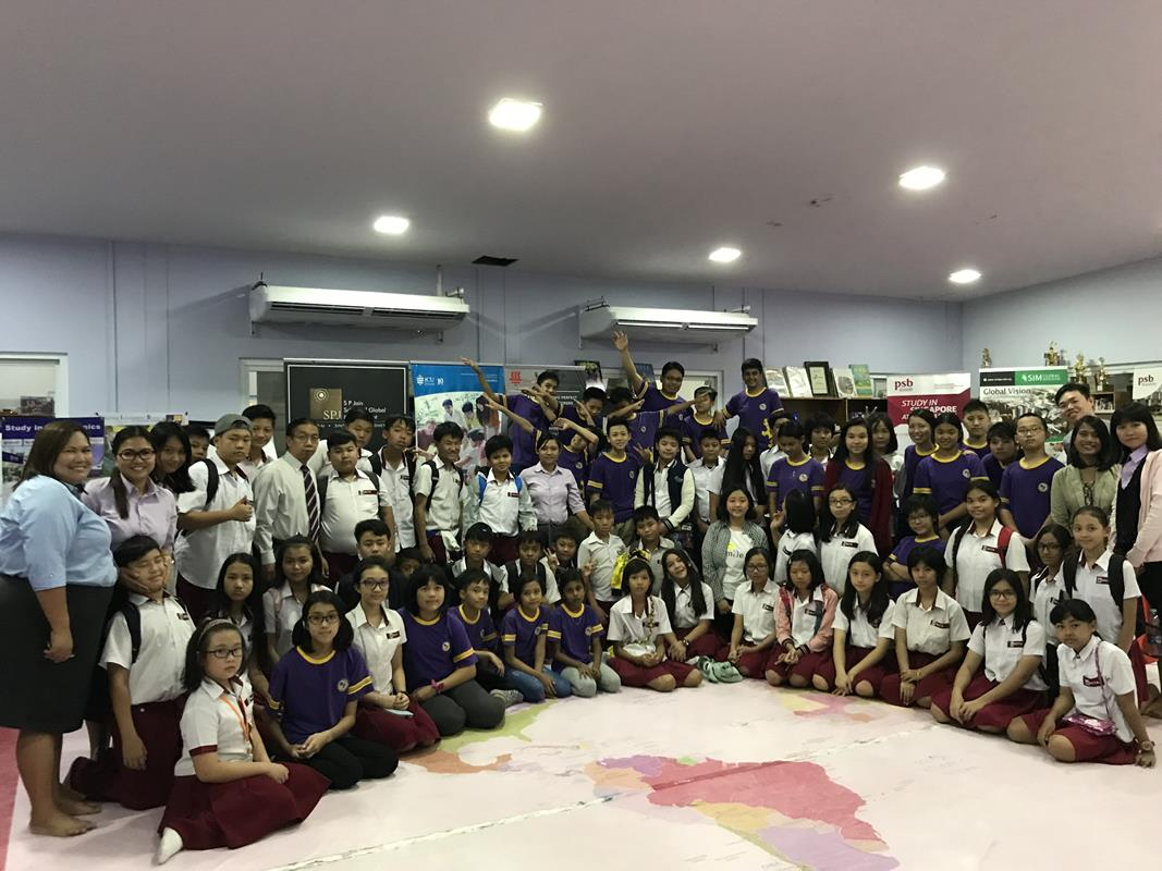 Visit by Teachers and P6 students from MCTA (26 Oct 2017)