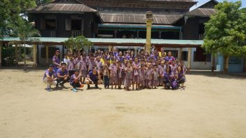 Charity Visit to the Kyaung Gyi Monastery (24 May 2018)