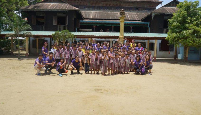 Charity Visit to the Kyaung Gyi Monastery (24 May 2018)