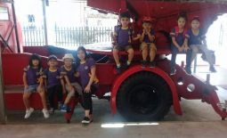 Pre-School Educational Trip to the Myaynigone Fire Station (15 May 2018)
