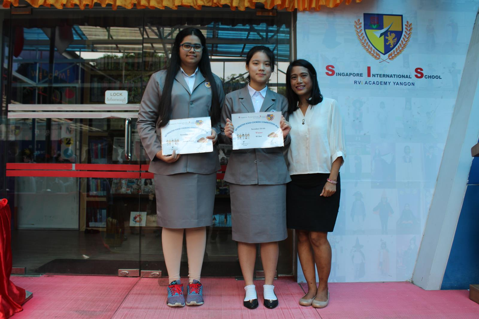 Presentation of Awards for Health Education Week Activities (17 Oct)