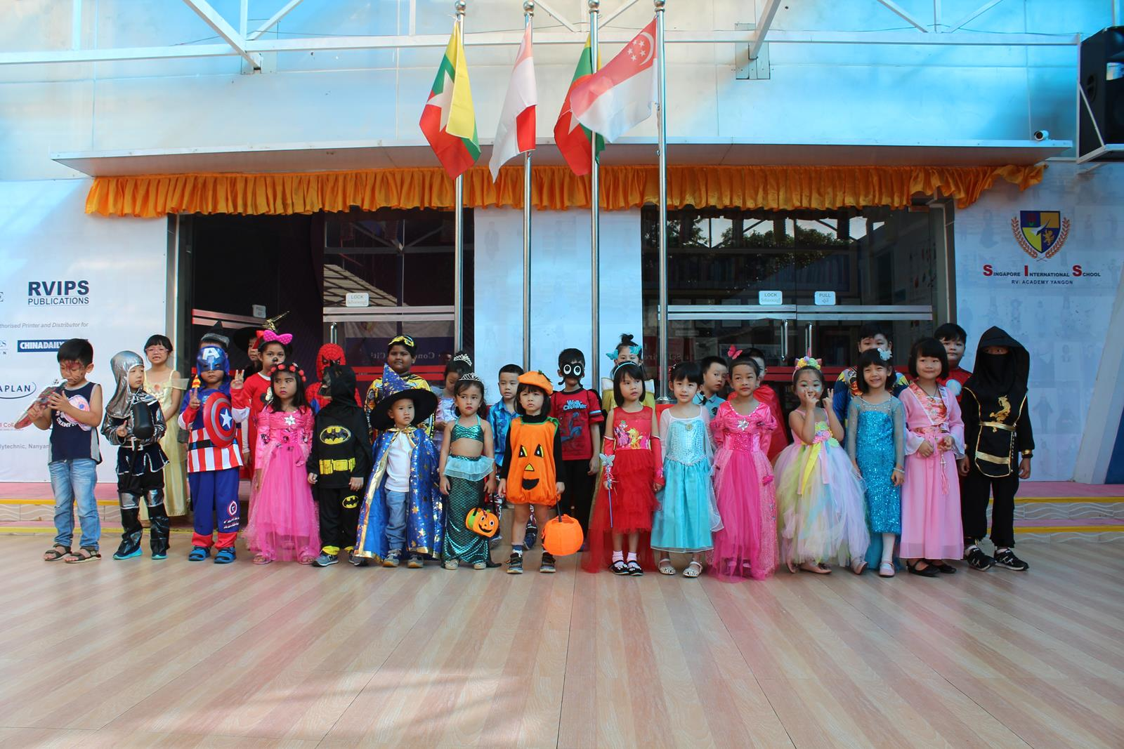 SIS Fancy Dress Competition (2 Nov 2018)