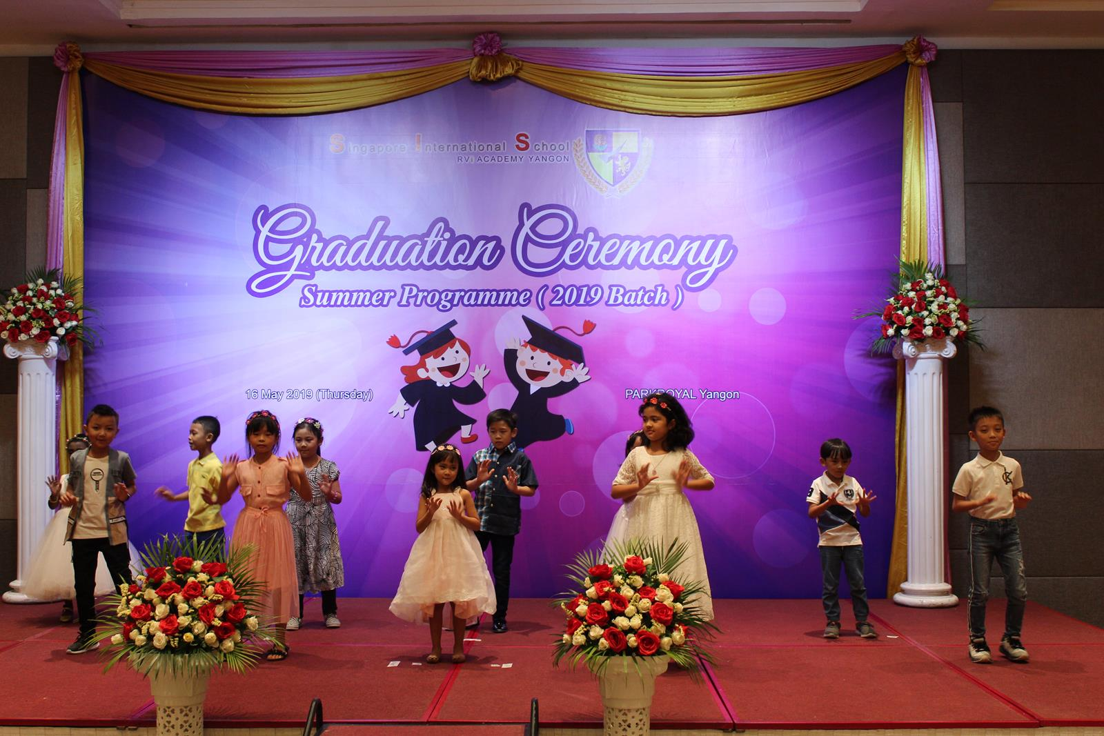 Graduation Ceremony of SIS Summer Programme 2019