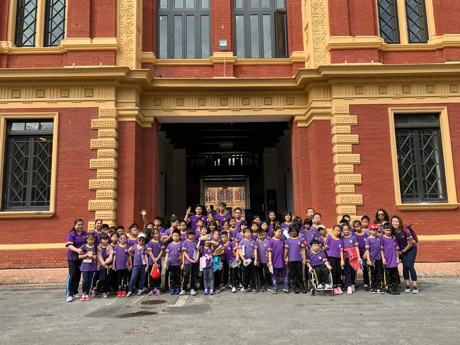 School Trip to the Yangon Secretariat for Primary Level students
