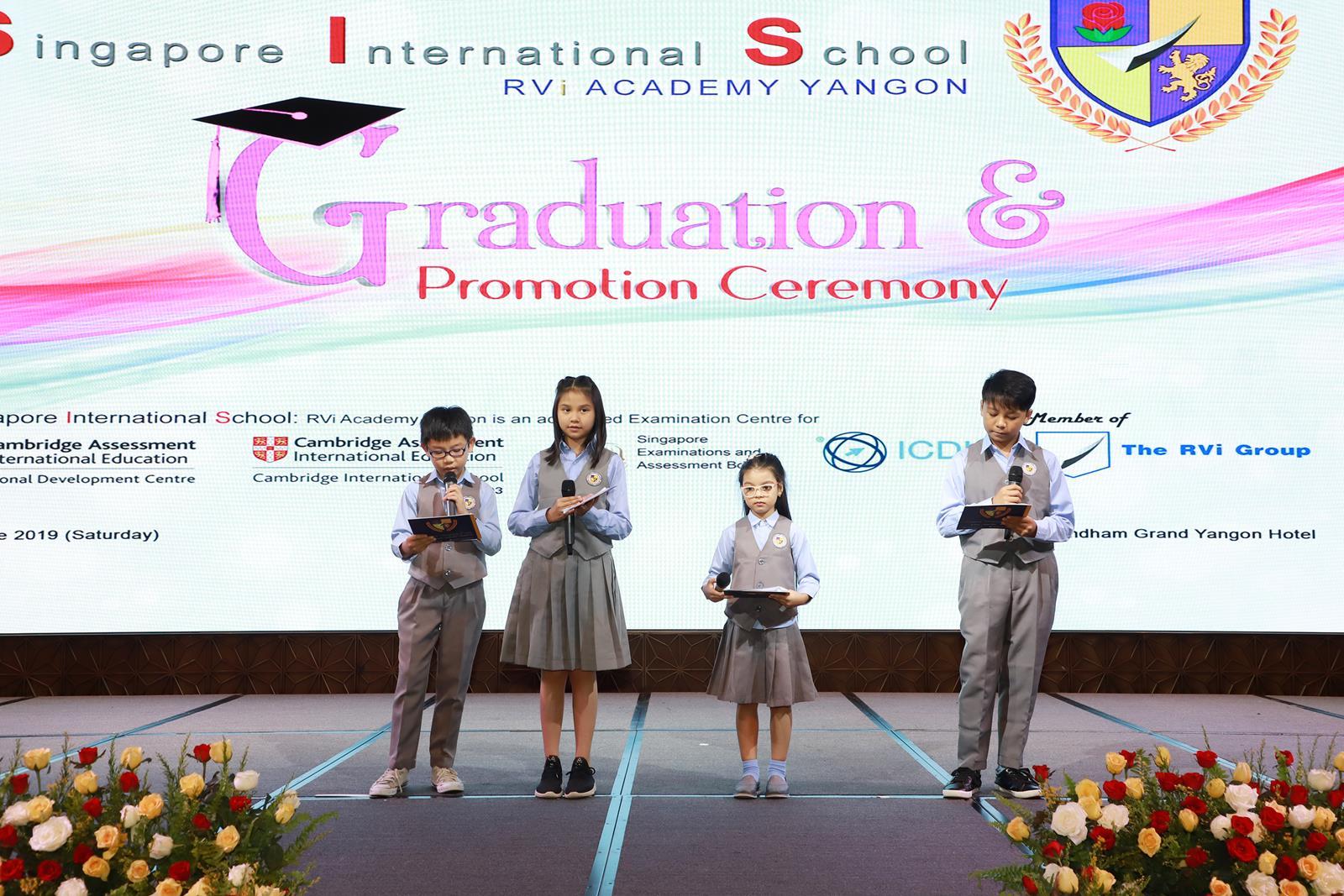 SIS Graduation & Promotion Ceremony 2019