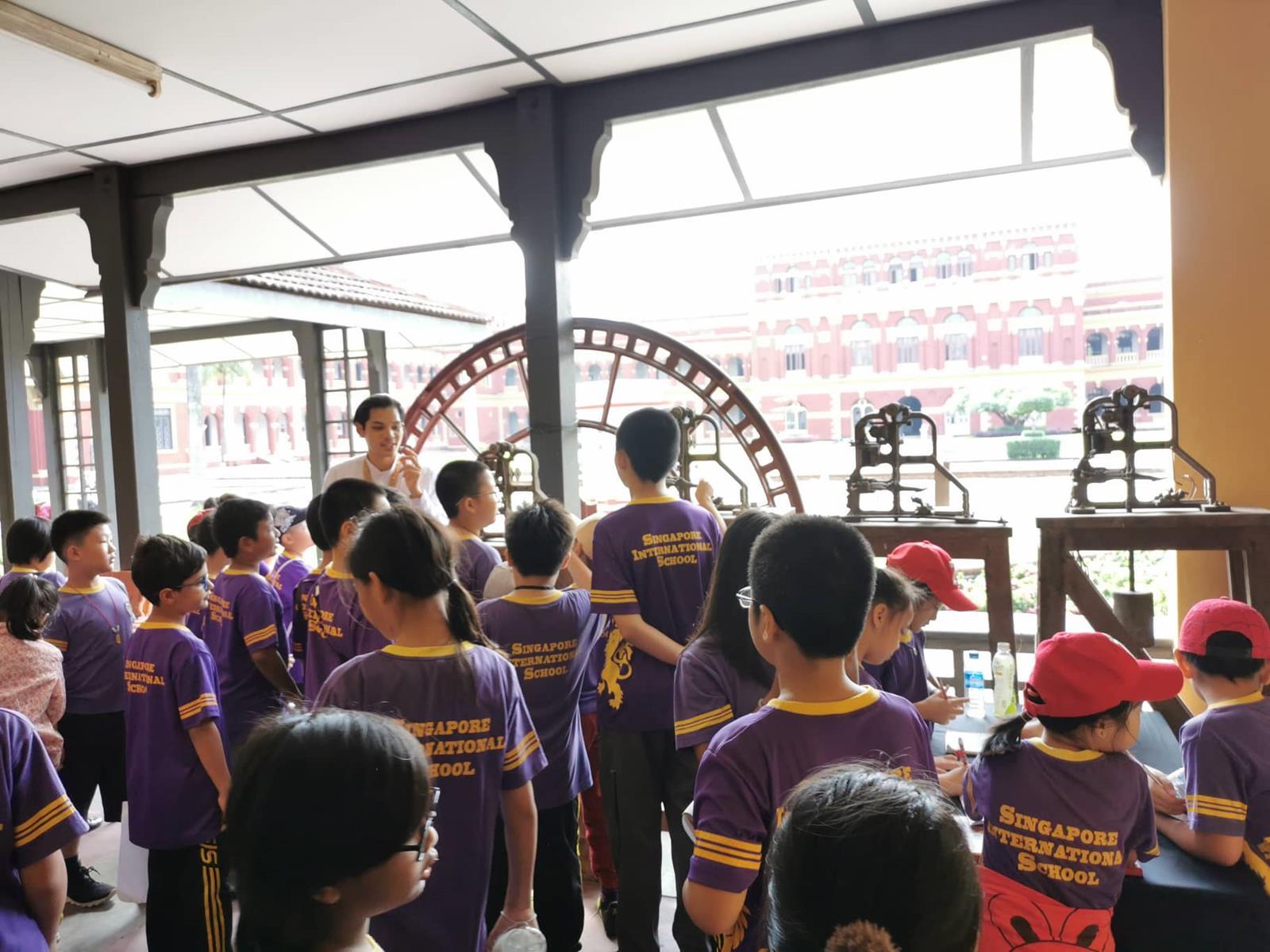 School Trip to the Yangon Secretariat for Primary Level students