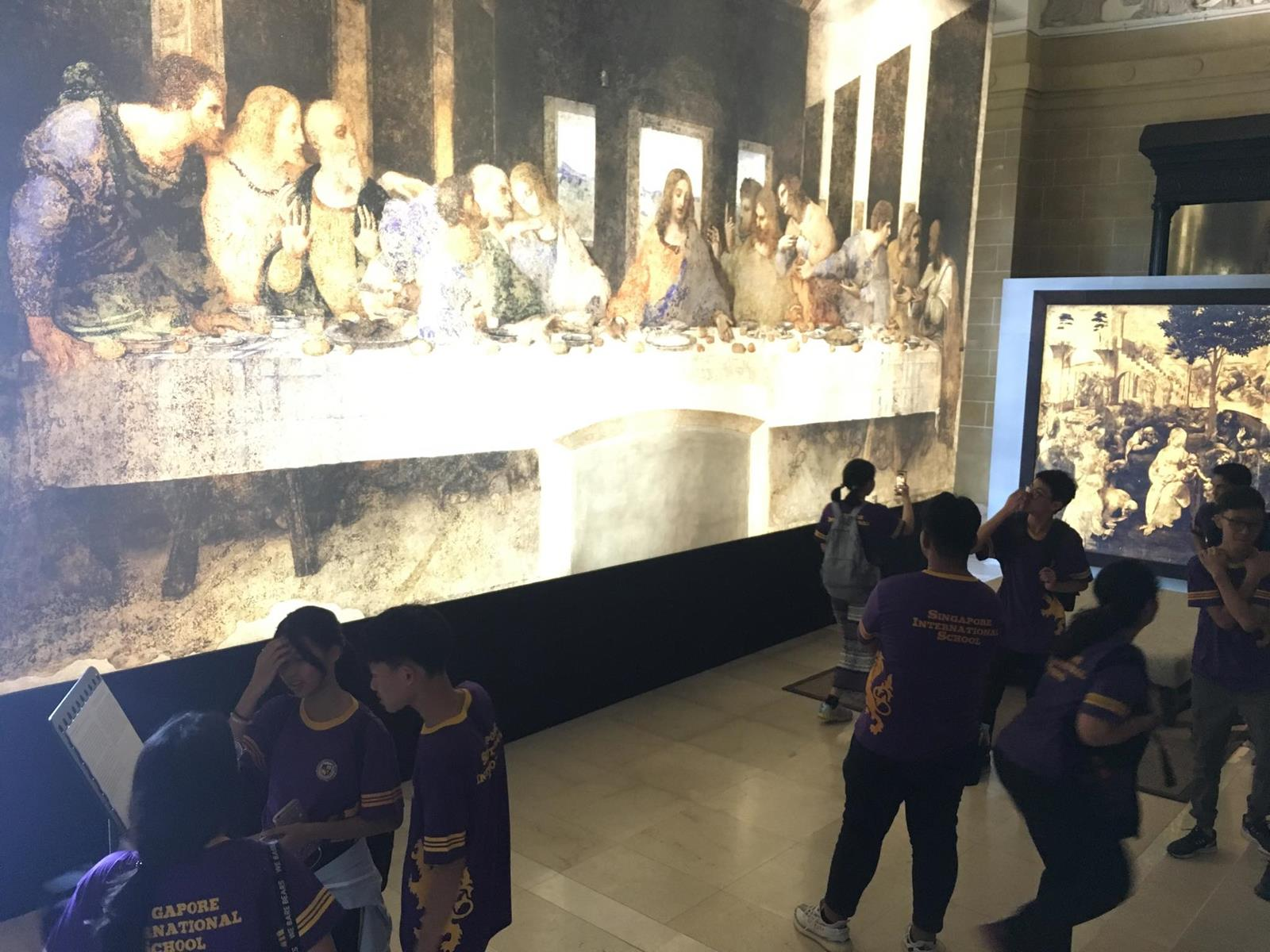 High School Trip to the Yangon Secretariat and Leonardo Opera Omnia Art Exhibition
