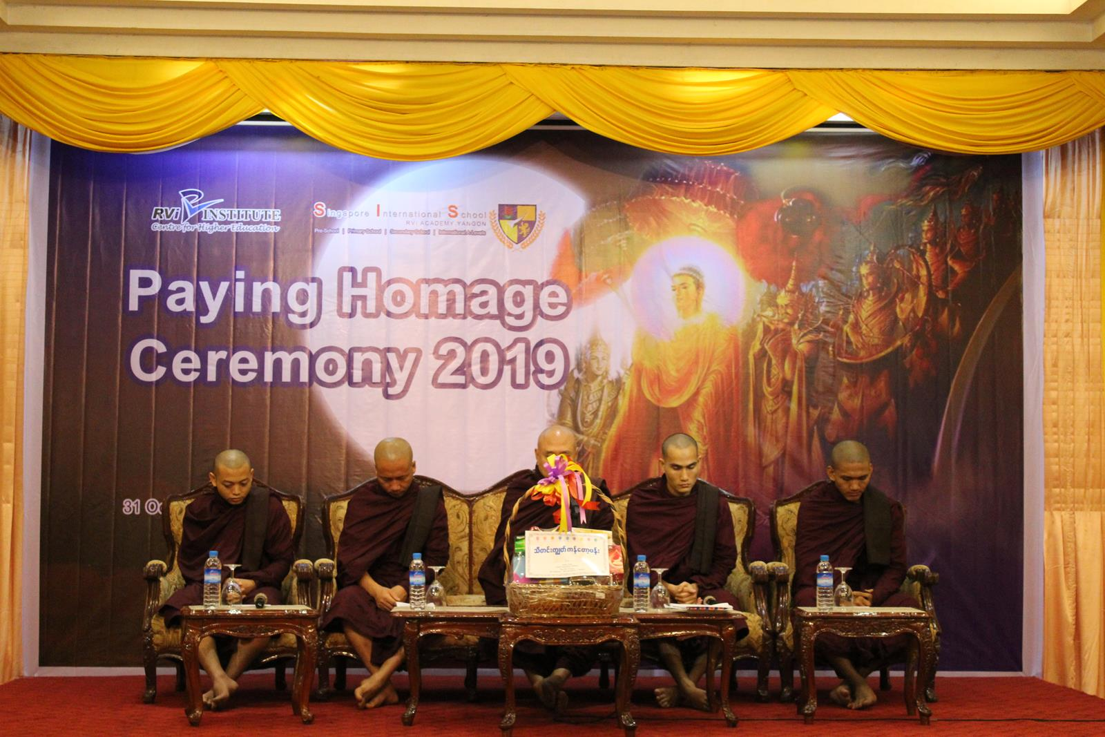 RVi Paying Homage Ceremony (31 October 2019)