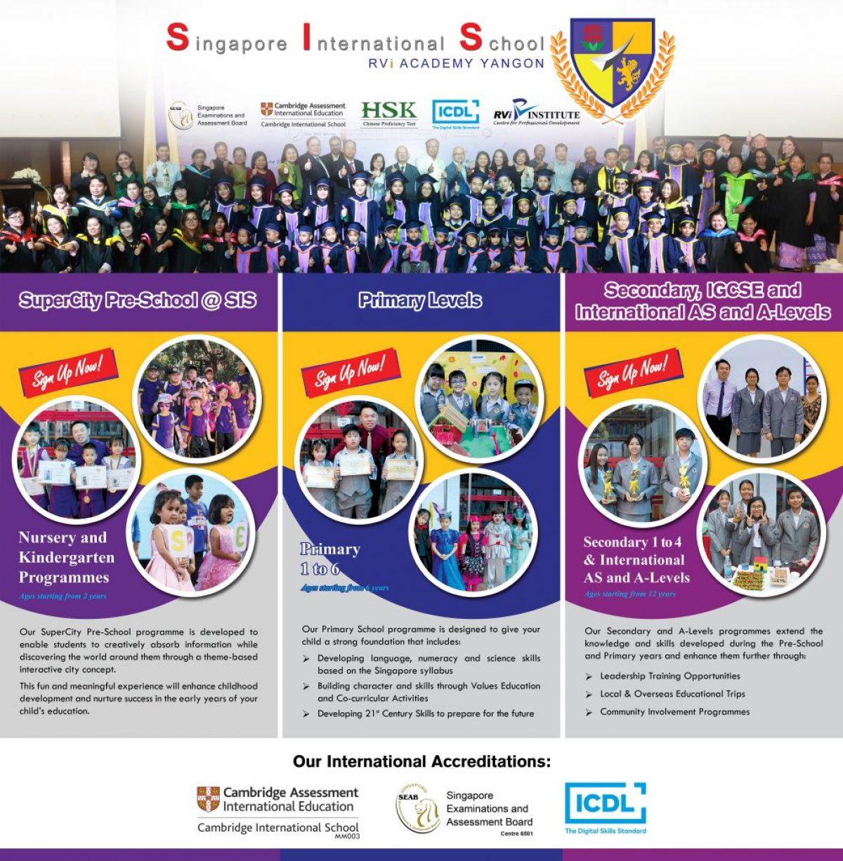 Singapore International School : RVi Academy Yangon