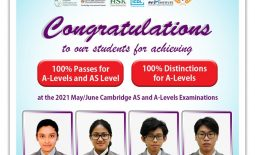 Release of Results for 2021 Cambridge May/June AS and A-Level examinations
